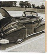 1947 Pontiac Convertible Photograph 5544.64 Wood Print