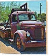 1947 Reo Speed Wagon Truck Wood Print