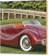 1948 Buick Streamliner Wood Print