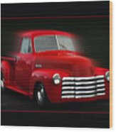 1948 Chevy Pickup Wood Print