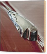 1948 Crosley Convertible Hood Ornament Wood Print