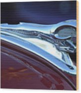 1948 Dodge Ram Hood Ornament Wood Print