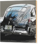 1948 Fastback Cadillac Wood Print