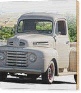 1948 Ford F1 Stepside Pickup I Wood Print