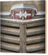 1948 International Hood Emblem -0227ac Wood Print