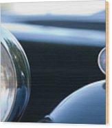 1948 Mg Tc Head Light Wood Print