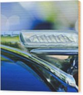 1948 Plymouth Hood Ornament Wood Print