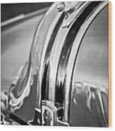 1948 Pontiac Chief Hood Ornament 4 Wood Print