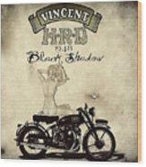 1948 Vincent Black Shadow Wood Print