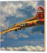 1949 Boeing B-17b Flying Fortress Wood Print
