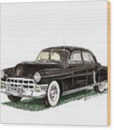 1949 Cadillac Fleetwood Sedan Wood Print