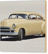 1949 Chevrolet Custom Fleetline Sedan II Wood Print