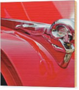 1949 Dodge Truck Hood Ornament Wood Print