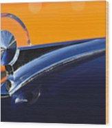 1949 Ford Hood Ornament 5 Wood Print