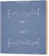 1950 Barbell Patent Spbb04_lb Wood Print
