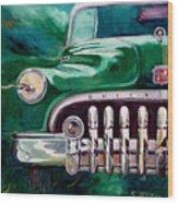 1950 Buick Roadmaster Wood Print
