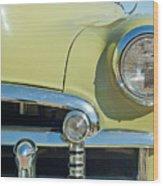 1950 Chevrolet Fleetline Grille Wood Print