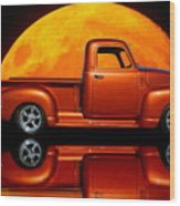 1950 Chevy Pickup Poster Wood Print