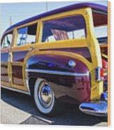 1950 Chrysler Royal Woody Wood Print