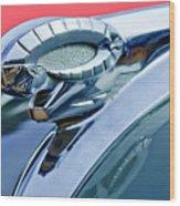 1950 Dodge Coronet Hood Ornament Wood Print by Jill Reger