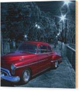1950 Olds Ninety-eight Wood Print