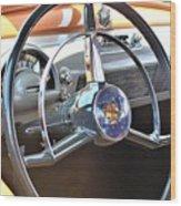 1950 Olds - Oldsmobile 88 Dashboard Wood Print