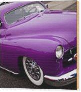 1950 Purple Mercury Wood Print