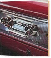 1950s Radio Wood Print