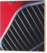 1951 Allard K2 Roadster Hood Ornament Wood Print