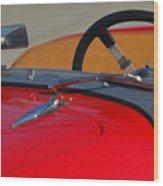 1951 Allard K2 Roadster Steering Wheel Wood Print