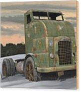1951 Corbitt Wood Print