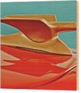 1951 Crosley Hot Shot Hood Ornament 2 Wood Print