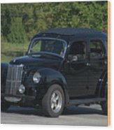 1951 English Ford Prefect Street Rod Sedan Wood Print