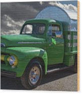 1951 Ford Truck Wood Print
