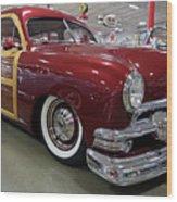 1951 Ford Woody Wagon Wood Print