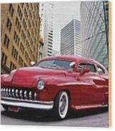 1951 Mercury 'candy Custom' Sled L Wood Print