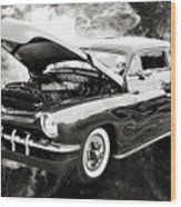 1951 Mercury Classic Car Photograph 001.01 Wood Print