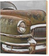 1951 Nash Ambassador Hydramatic Front End Wood Print