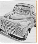 1951 Studebaker Pickup Truck Wood Print by Daniel Storm