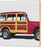 1951 Willy's Jeep Wagon Wood Print