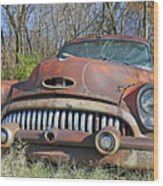 1952 Buick For Sale Wood Print