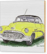 1952 Buick Special Wood Print