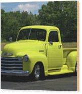 1952 Chevrolet Pickup Truck Wood Print