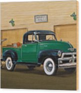 1952 Ford F100 Pickup Wood Print