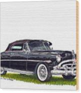 1952 Hudson Hornet Convertible Wood Print