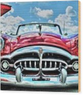 1952 Packard 250 Convertible Wood Print