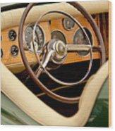 1952 Sterling Gladwin Maverick Sportster Steering Wheel Wood Print