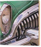 1953 Buick Chrome Wood Print