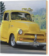 1953 Chevrolet Stepside Pickup I Wood Print