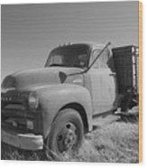 1953 Chevy Bobtail Truck Wood Print